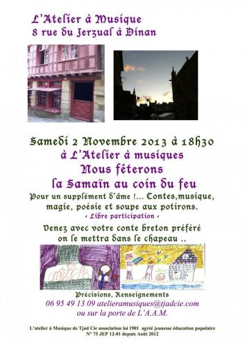-Fête Samaîn 2 Nov 13 pub