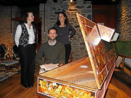 photo concert clavecin benjamin elisabeth